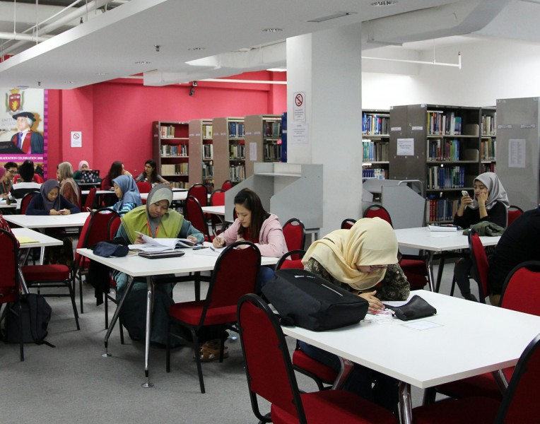 With more than 60 programmes offered, our library is well-equipped for our students' study convenience.