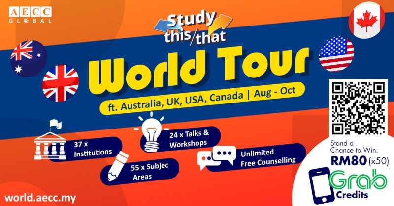 留学之旅:澳大利亚、英国、美国和加拿大 https://world.aecc.my