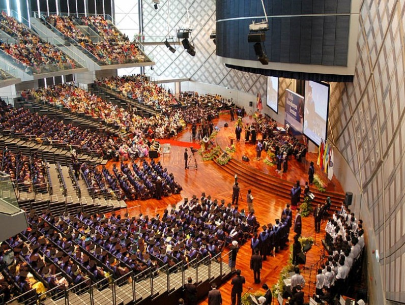 Convocation Ceremony at the Chancellor Hall