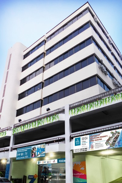 SEGi College Penang, located in Green Hall, serves as SEGi's education hub to students in the Northern Region of Malaysia.