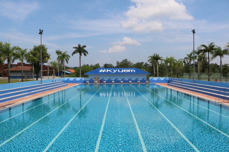 50-metre swimming pool