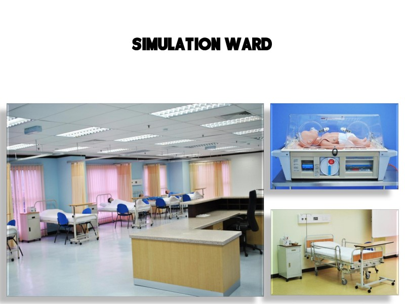 ICAN College provided a simulation ward that not only provides course theory learning for students in the Diploma of Nursing, but also provides a good practice learning environment for them.