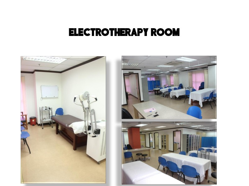 ICAN College has a well-equipped electric therapy room that allows students to have a good learning experience.