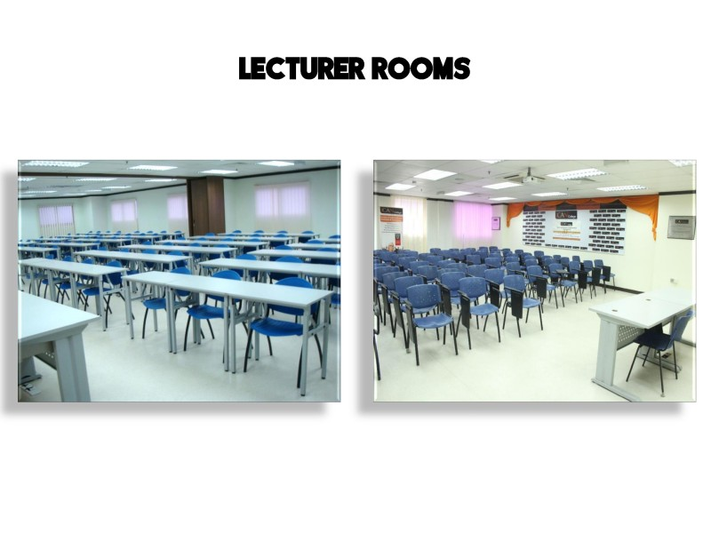 The ICAN College's classrooms are clean and comfortable, allowing students to concentrate and enjoy their time in class.