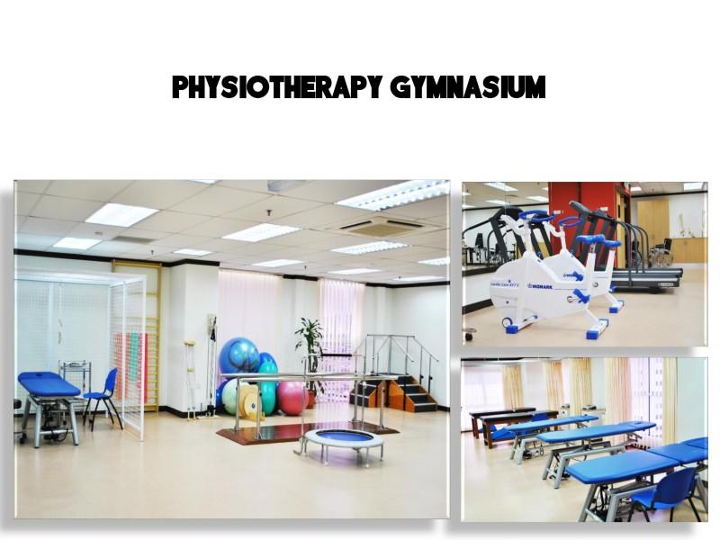 ICAN学院的物理治疗室备有全备的设施给学生。