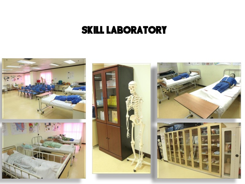 ICAN college's skill laboratory provides students with a practical and conducive learning environment.