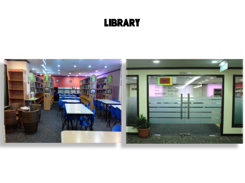 ICAN College library's provides comprehensive resources and facilities for research and assignment purposes