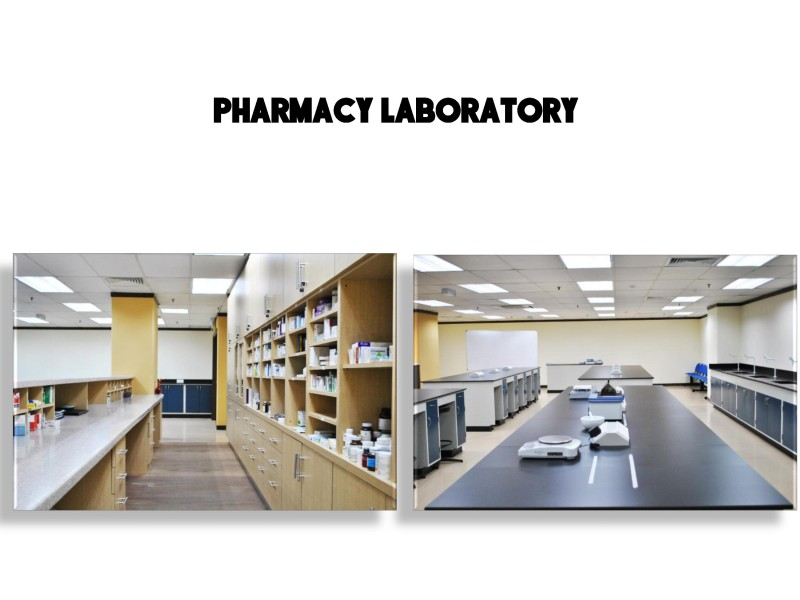 ICAN College pharmacy students will receive rigorous hands-on training to ensure they have a wealth of practical experience.
