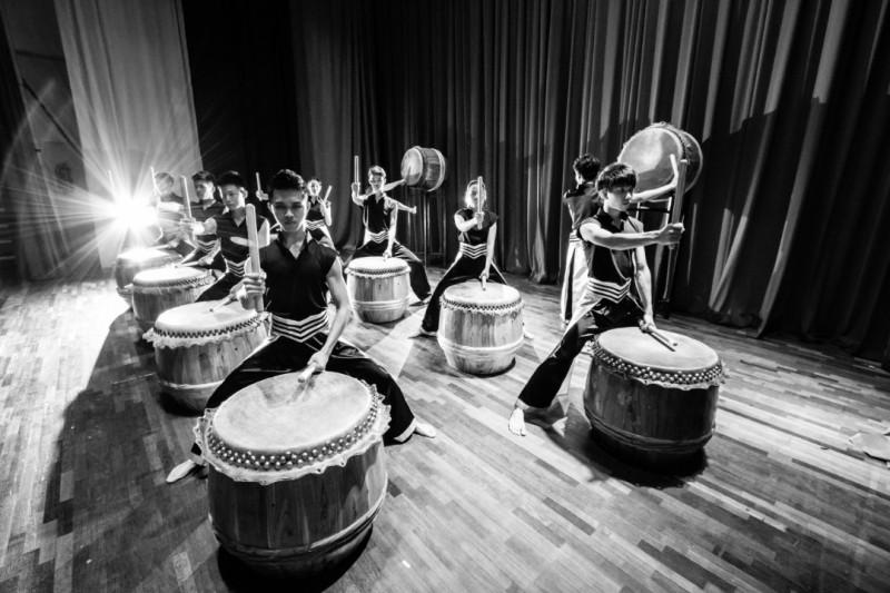 《爱艺鼓》新纪元二十四节令鼓鼓队,曾受邀到国家剧院演出,广受好评。