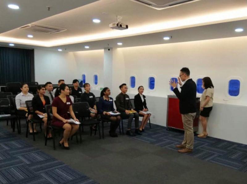 国际航空到来本院举办面试活动。
