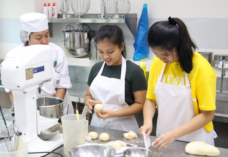Career Discovery Programme, aka Trial Class, to help students to discover & explore more in-depth on the passion in culinary and/or pastry arts before making the final decision.