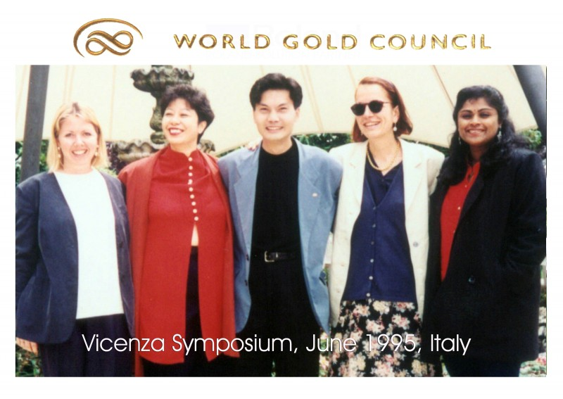 World Gold Council; Vicenza Symposium, June 1995, Italy
