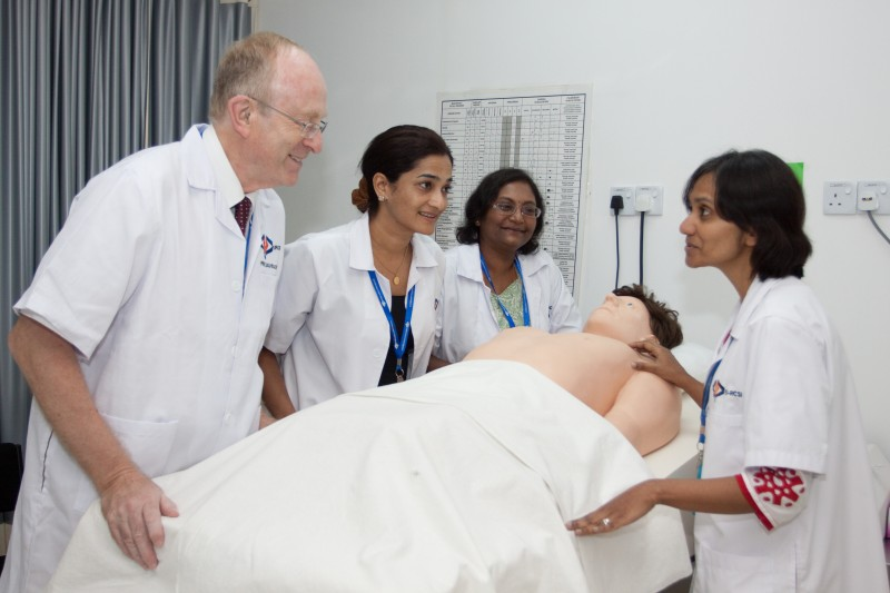 Perdana University has experienced specialists for course teaching and advanced medical human body simulation patients to allow students to have clinical learning.