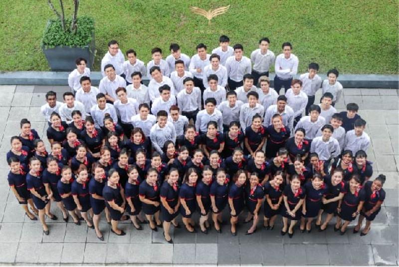 这是一群为了梦想而努力的学生