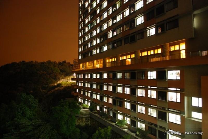 宿舍环境清幽静谧,提供学生安静舒适的休息空间。
