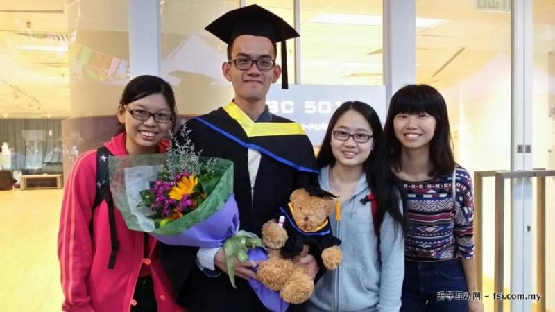 香港浸会大学历年来培育出不少优秀的马来西亚学生。