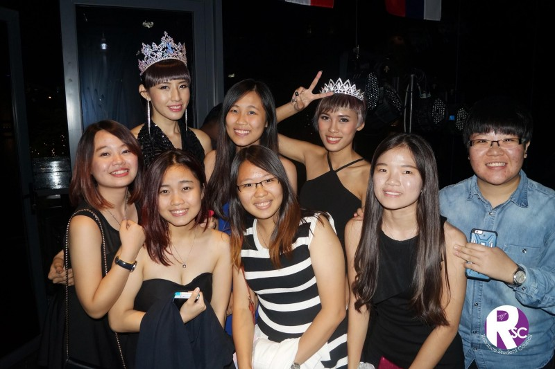 诚信学院会与马来西亚美姐、艺人齐参与主题晚会,学生有机会和不同领域的人士交流。