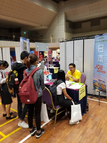 UNIVERSITY TUNKU ABDUL RAHMAN  KAMPAR CAMPUS- CAREER FAIR