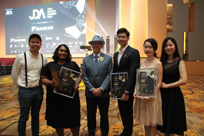 Raffles Interior Designers' Achievement at JIDA Award 2019