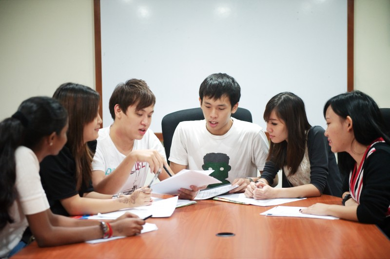 Students' discussion