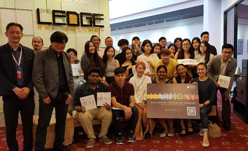 Completion of final project/ showcase; involvements: students, industry experts and Saito lecturers.