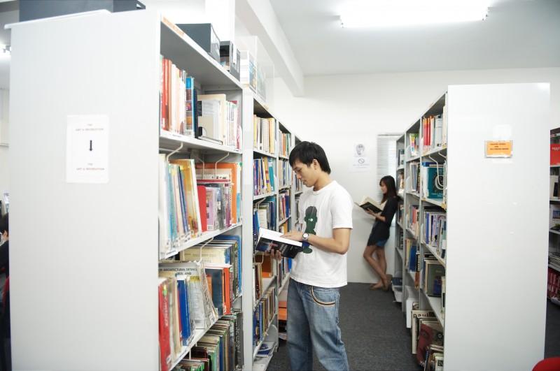 Library at Saito University College