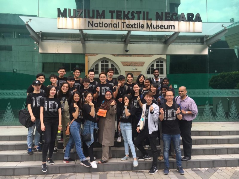 Local study trip to the National Textile Museum