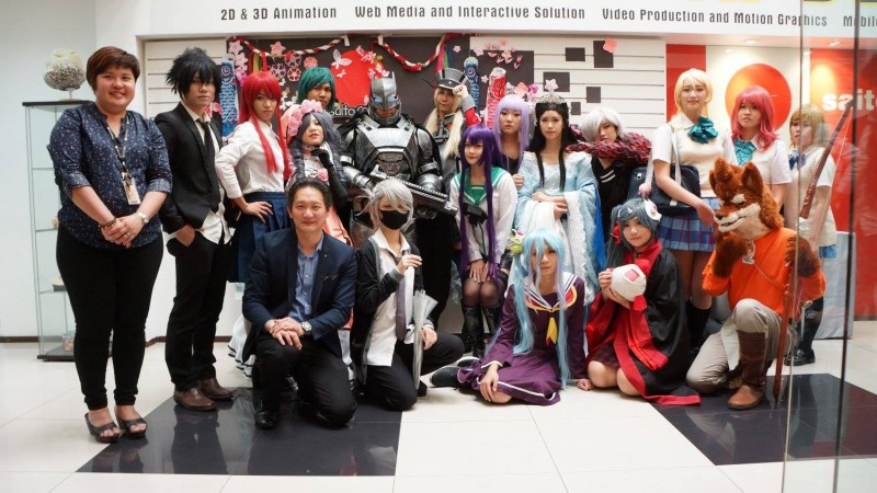 Extra Curricular Activity: anime themed event, organised by students of Saito University College