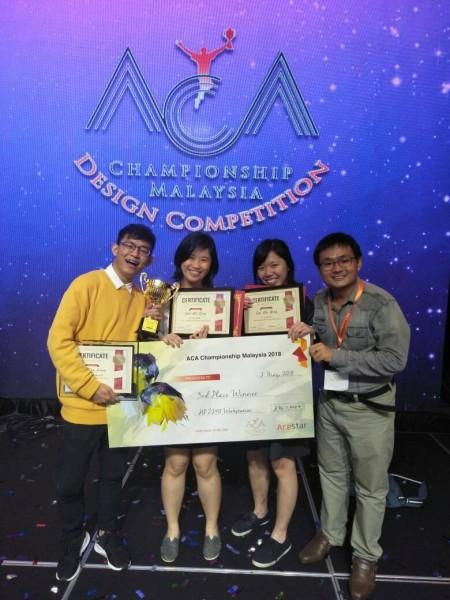 Saito students winning competition