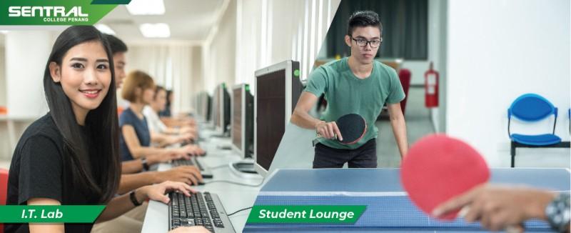 I.T Lab / Student Lounge
