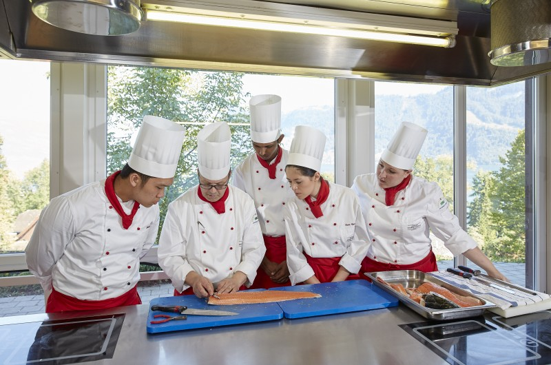 Culinary Classes in Kitchen