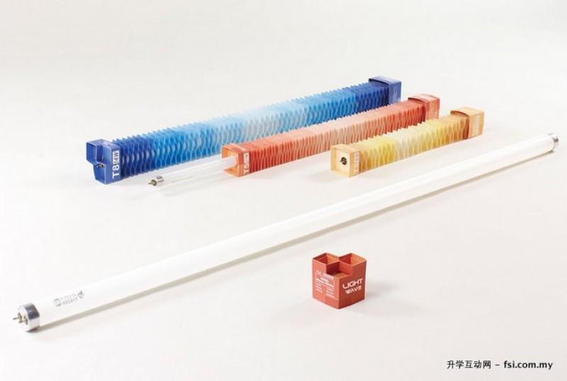 树德科技大学设计学院设计之iF概念设计奖(iF Concept Design Award)全球第一名作品《LIGHT WAVE/光波》灯管包装设计。