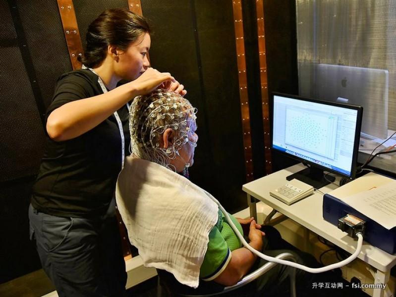心理学系的实验室的设备齐全,其中包括眼动追踪装置和脑电图(Electroencephalograph, EEG)。
