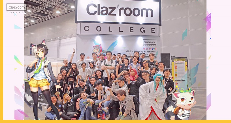 Students and lecturer were participated Comic Fiesta event