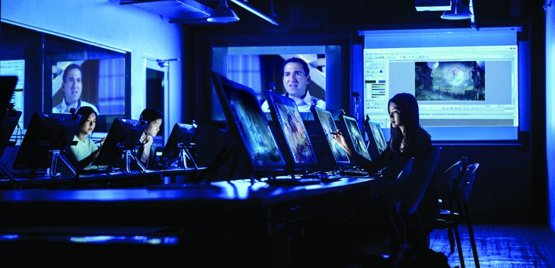 The Digital Lab is equipped with industry standard facilities and technology.