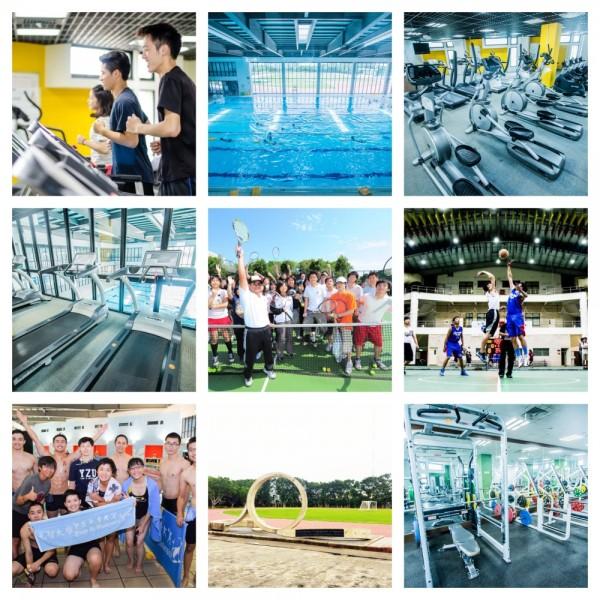 充滿活力的校園少不了熱血的歡呼聲,學校除了操場、籃球、網球等球類場地外,更設有游泳池、健身房及重訓室,學生可在空閒時間揮灑汗水!校院系時常舉辦運動系列的活動,種類眾多讓同學們參加有興趣的項目,透過運動釋放學業與生活中的壓力,並藉由競賽學習團隊合作、努力不懈的運動家精神。