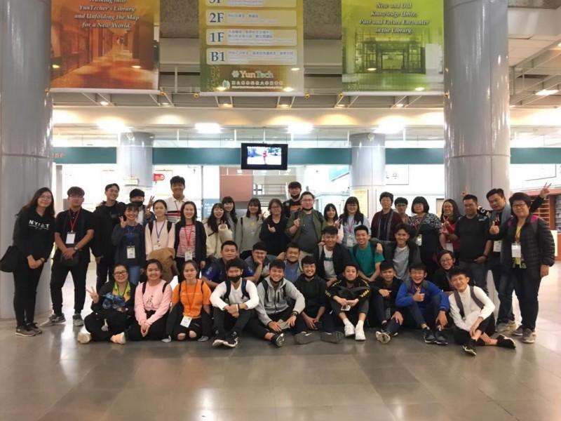 马来西亚师生至 YunTech 交流。
