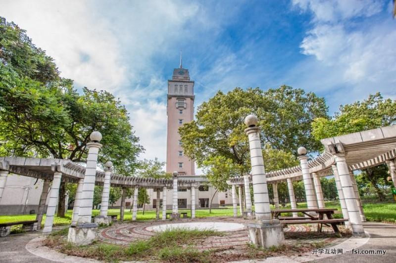环境优美的 YunTech 校园。