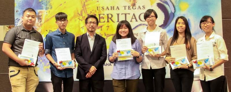 ATEC 学员参加Usaha Tegas古迹遗产全国创作赛,在不同组别中夺得冠、亚、季军暨安慰奖,赢取丰富的奖金。