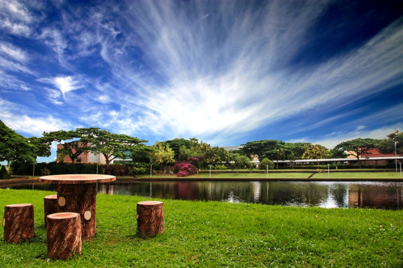 Campus lake