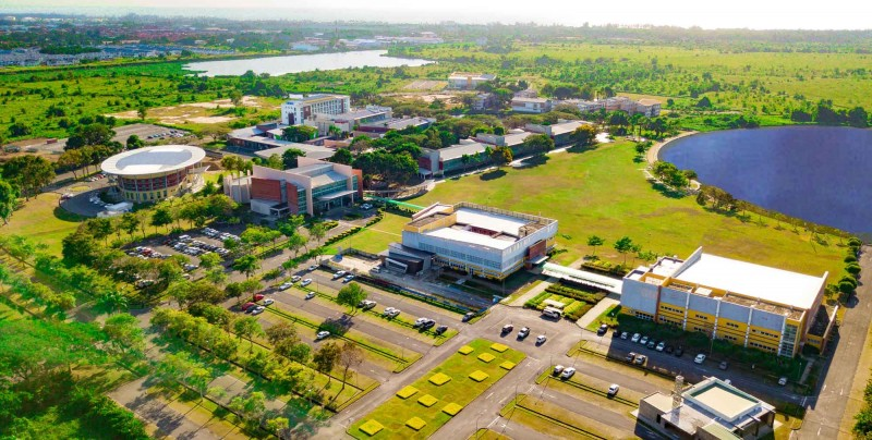 校园鸟瞰图