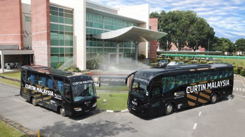 Campus shuttle bus