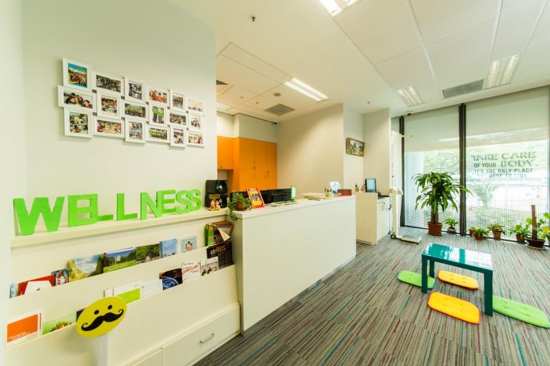 环境舒适的学生康乐中心。