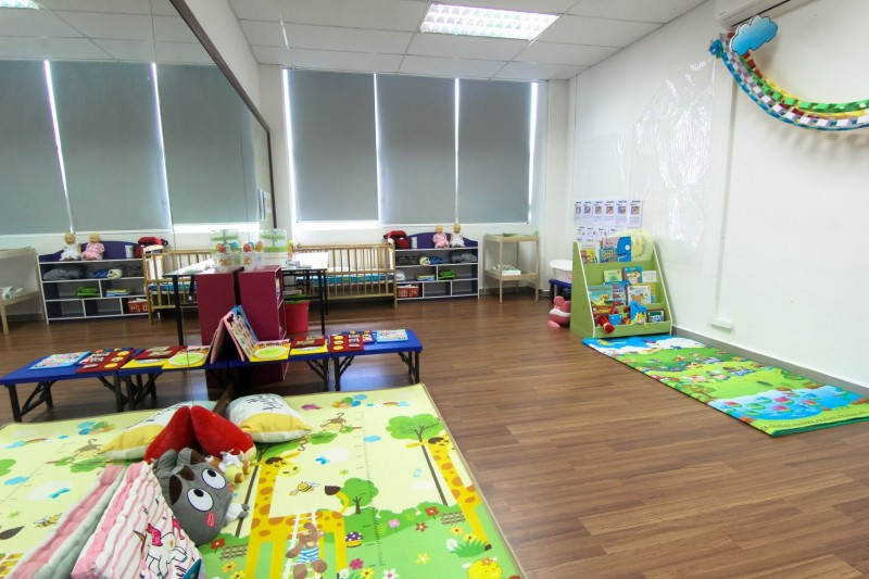 Stimulation classroom for early childhood education programme.