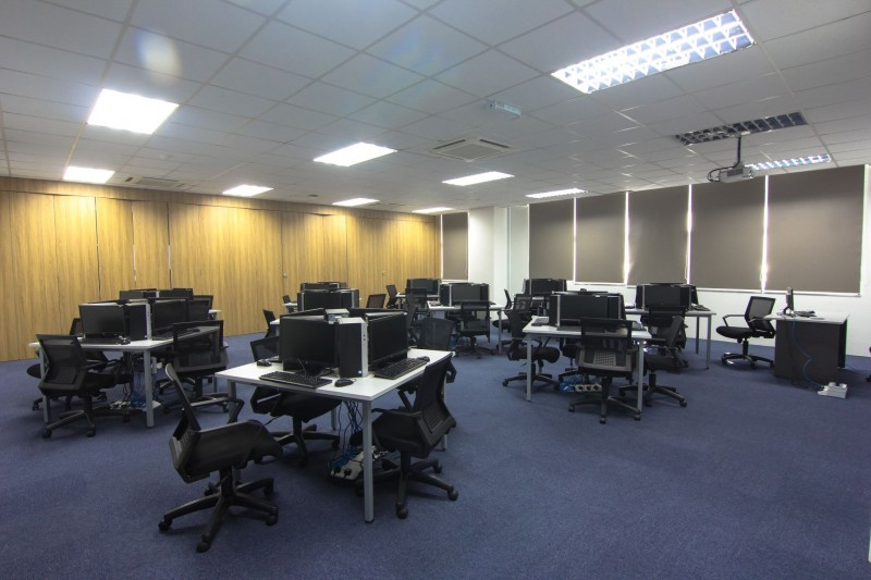 Computer lab located at International Education Building.