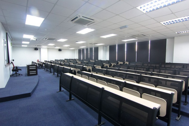 A lecture hall that can accommodate 150 people