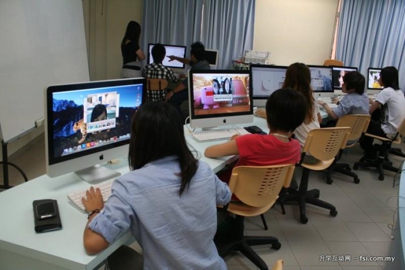 槟城伯乐大学学院提供先进新颖的教学设备,让学生在媲美业界的环境中学习。