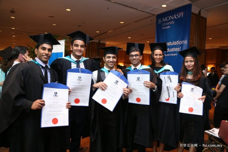 马来西亚蒙纳士大学的课程都受到马来西亚及澳大利亚政府的认证。