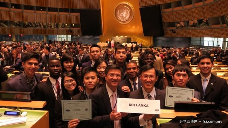 台北科大致力于培养学生国际移动力,参加美国纽约模拟联合国会议竞赛已达十次之多,总获奖类别与数量皆为全台大学第一。