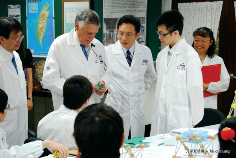 多位诺贝尔奖得主皆为台北科大的讲座教授。